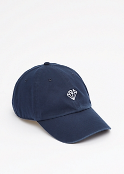Stencil Gem Baseball Hat