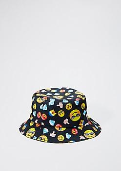 Mixed Emoji Bucket Hat