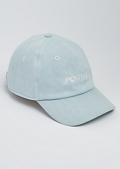 Denim Postman Dad Hat