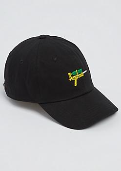 Black Water Gun Dad Hat