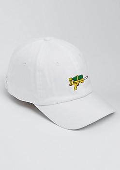 White Water Gun Dad Hat