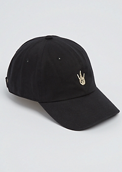 Black Westside Dad Hat