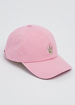 Pink Westside Dad Hat