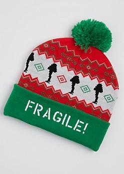 Fragile! Pom Beanie