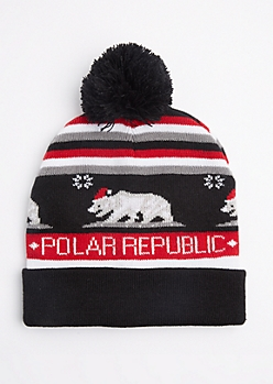 Polar Republic Pom Beanie