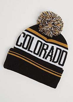 Colorado Pom Beanie