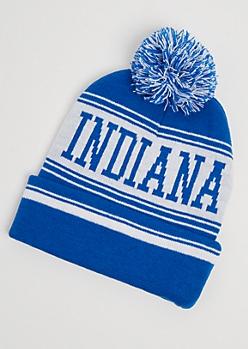 Indiana Pom Beanie
