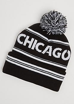 Chicago Pom Beanie