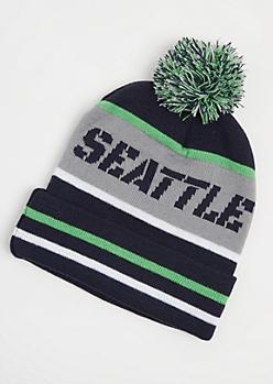 Seattle Pom Beanie