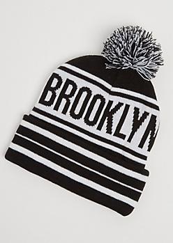Brooklyn Pom Beanie
