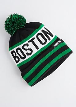 Boston Pom-Pom Beanie