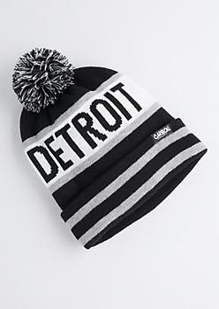 Detroit Pom-Pom Beanie
