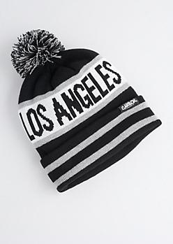 Los Angeles Pom-Pom Beanie