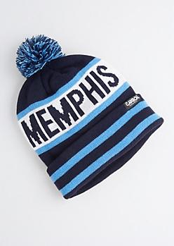 Memphis Pom-Pom Beanie