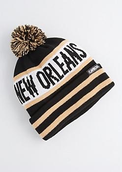 New Orleans Pom-Pom Beanie