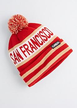 San Francisco Pom-Pom Beanie