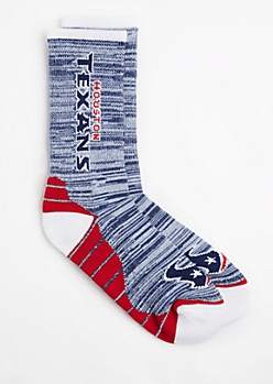 Houston Texans Marled Socks