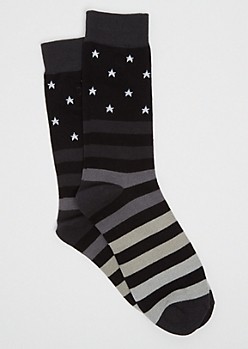 Stars & Stripes Crew Socks By Stith