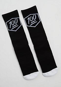 100 Percent Crew Socks