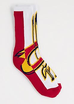 Cleveland Cavaliers Oversized Logo Socks