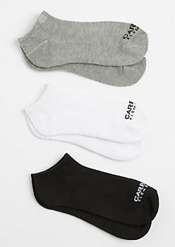 3-Pack Multi Sneaker Socks