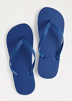 Blue Classic Sandals