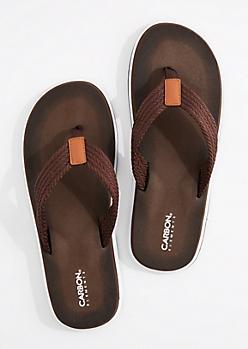 Brown Comfort Foam Strap Flip Flop
