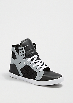Reflective Hit High Top Sneaker