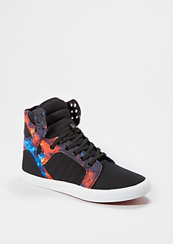 Canvas Galaxy High Top Sneaker