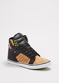 Cork High Top Sneaker