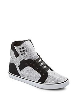 Flecked High Top Sneaker
