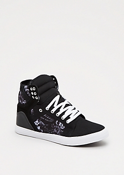 Hawaiian High Top Sneaker