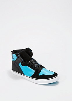 Turquoise High Top Sneaker