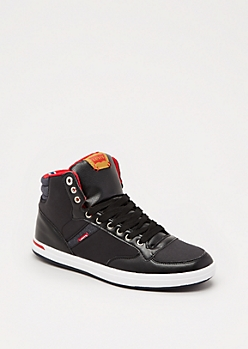 Black High Top Sneaker by Levi
