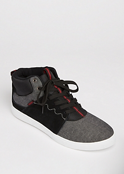 Woven High Top Sneaker By Unionbay