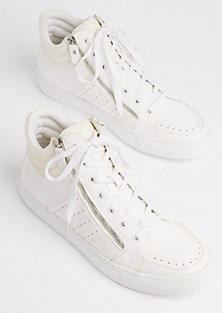 Double Zip High Top Sneaker by XRay