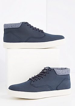 Microsuede High Top Sneaker By Unionbay