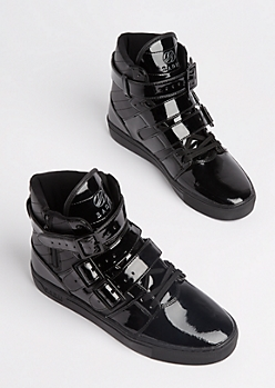 Black Straight Jacket Sneaker By Radii