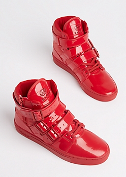 Red Straight Jacket Sneaker By Radii