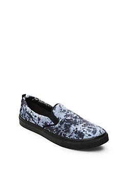 Gray Marble Skate Shoe