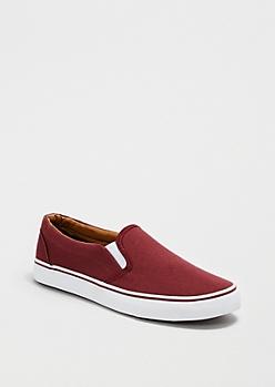 Burgundy Skate Shoe
