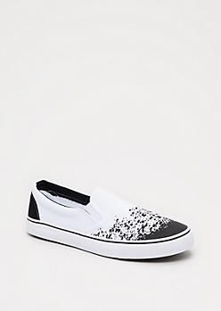 Paint Splattered Skate Shoe