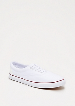 Classic White Low Top Sneaker