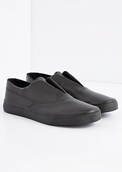 Vegan Leather Low Top Sneaker