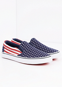 Americana Canvas Skate Shoe