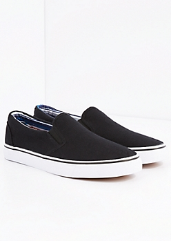 Black Canvas Skate Shoe