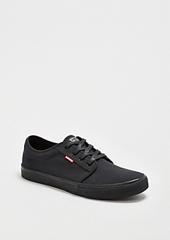 Black Low-Top Skate Shoe By Levi's®