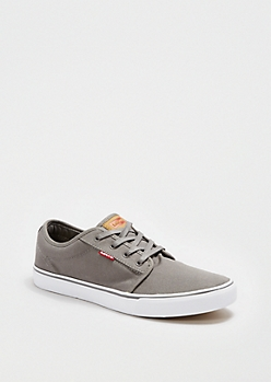 Gray Low-Top Skate Shoe By Levi's®