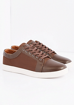 Brown Perforated Sneaker by Unionbay®