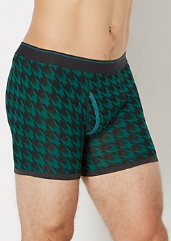 Gradient Houndstooth Boxer Brief